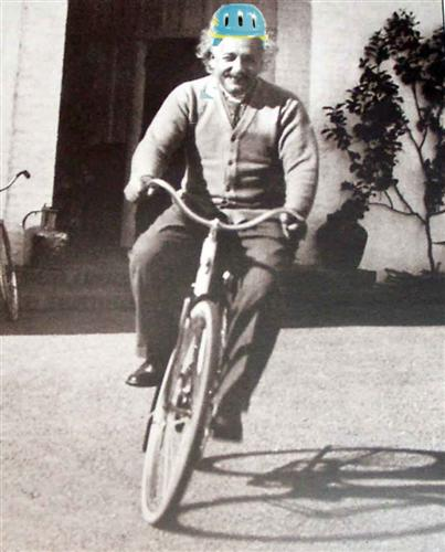 Albert Einstein Bike Helmet